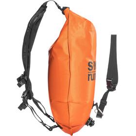 Swimrunners Piggybacking - naranja/negro